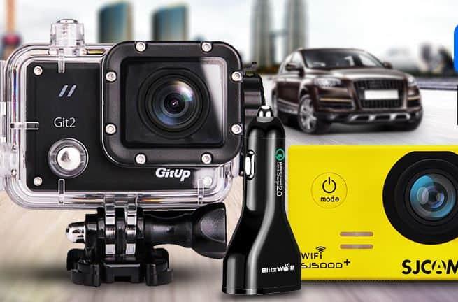 קופון 20% למצלמות אקסטרים, מטענים ואביזרים לרכב!