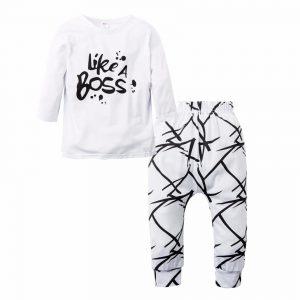 סט לגן | חולצה ומכנסיים במידות מגיל 3 חודשיים ועד שנתיים |