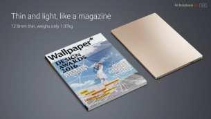 """דגם 12.5"""" מקביל לעובי וגודל של מגזין ממוצע"""