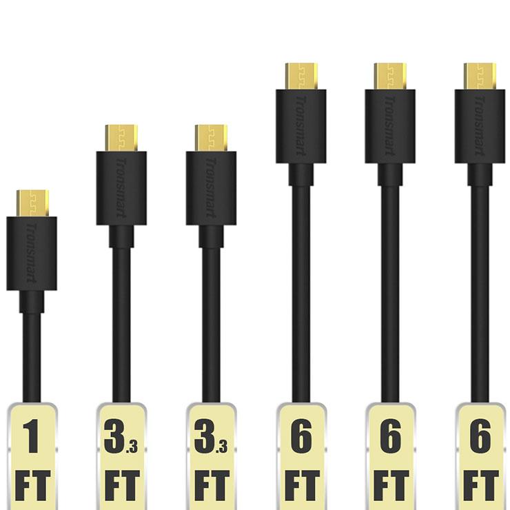 כבל USB מומלץ (glouds), חבילה של 5 במחיר פצצה