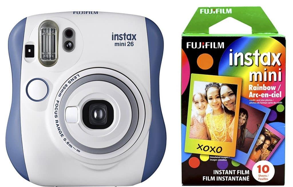 מצלמה לפיתוח תמונות מיידי+סרט צילום