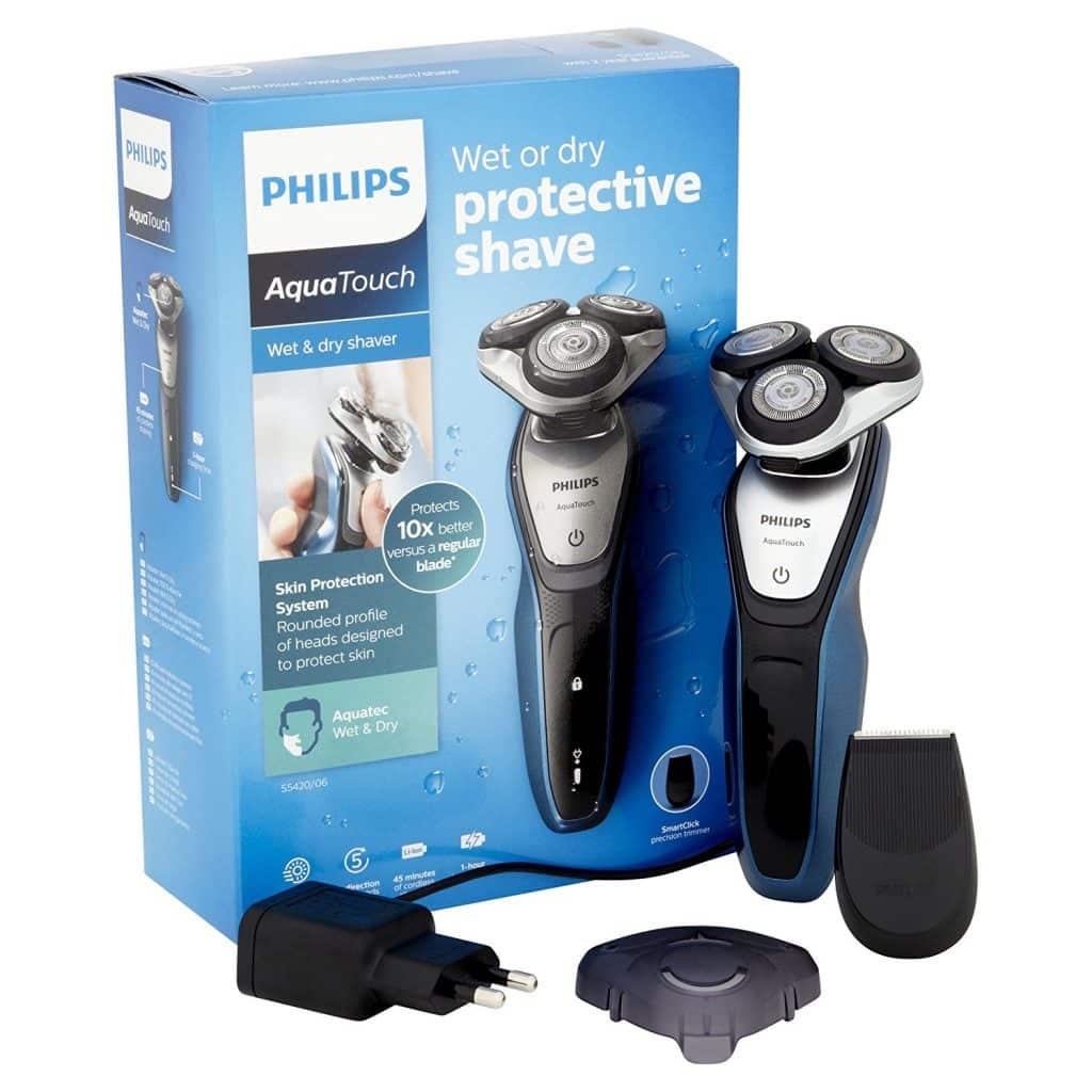 מכונת גילוח Philips AquaTouch S5420 במחיר משתלם!
