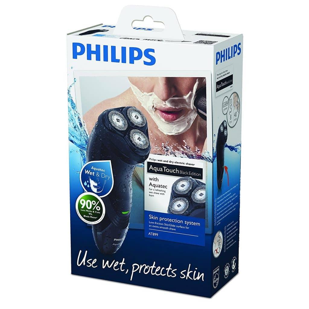 מכונת גילוח Philips AquaTouch Wet and Dry הנמכרת ביותר באמזון בריטניה! במחיר מנצח!