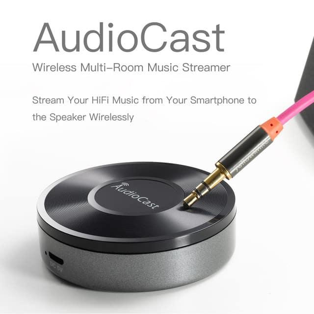 New M5 AudioCast WIFI Music Airplay – מזרים סאונד אלחוטי