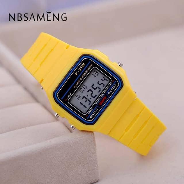 שעון חמוד לילדים (דמוי CASIO) ב2$!