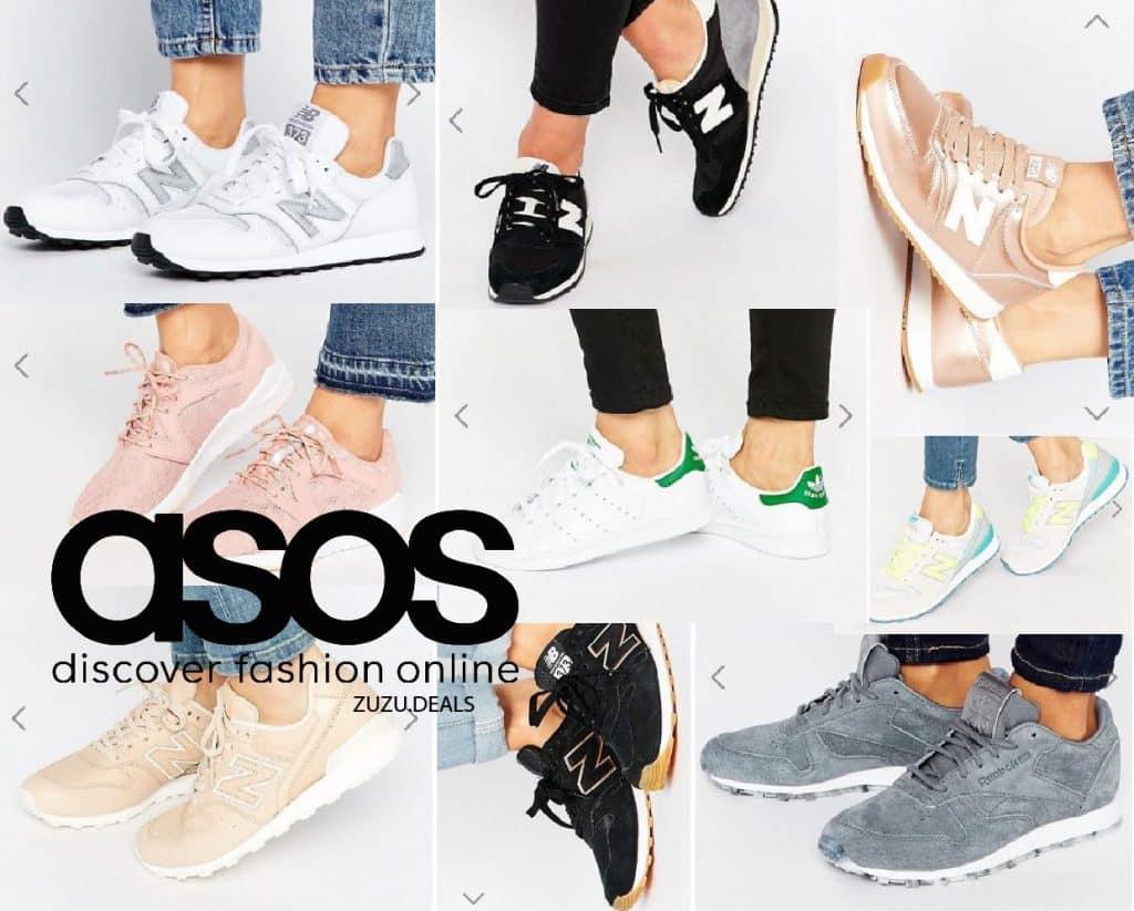 נשים! 10 זוגות נעלי ספורט מASOS בהנחות שוות! להיום בלבד!