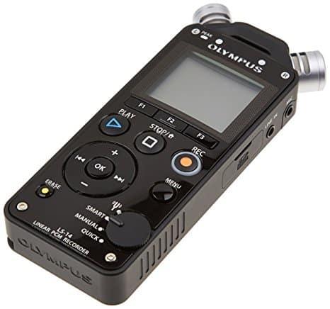 Olympus LS-14 מכשיר הקלטה/מיקרופון משובח ב450 במקום 950!