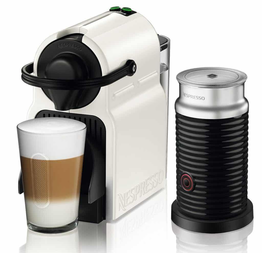 Nespresso Inissia + Aeroccino מכונת אספרסו + מקציף