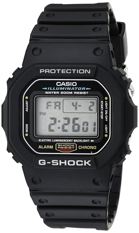 """שעון לגבר G-shock DW5600E-1V Casio ב 160 ש""""ח"""
