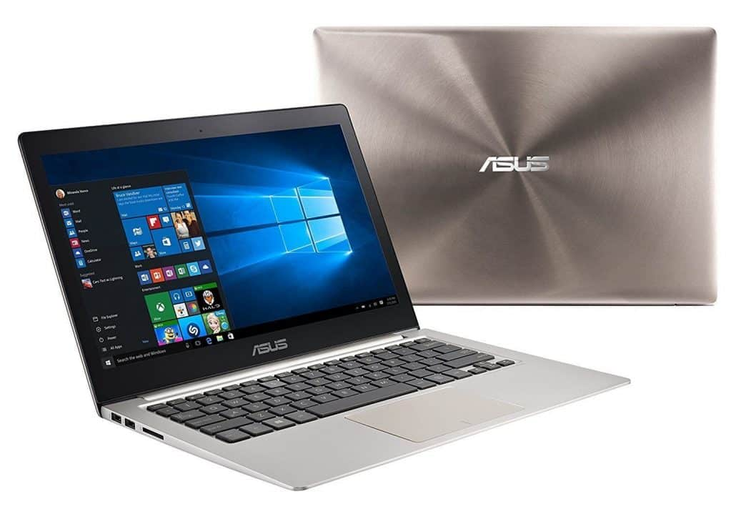 "מחשב נייד zenbook עם i5-6200U, 4GB DDR3, 128GB SSD, Win 10 ב1894 ש""ח(לא כולל מכס)"