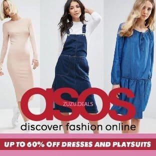 עד 60% הנחה על שמלות בASOS!