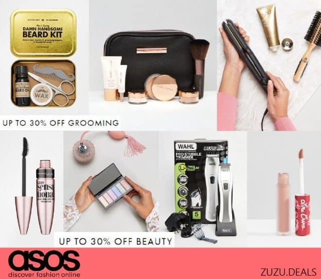 ASOS עד 30% הנחה על מוצרי הטיפוח לנשים וגברים!