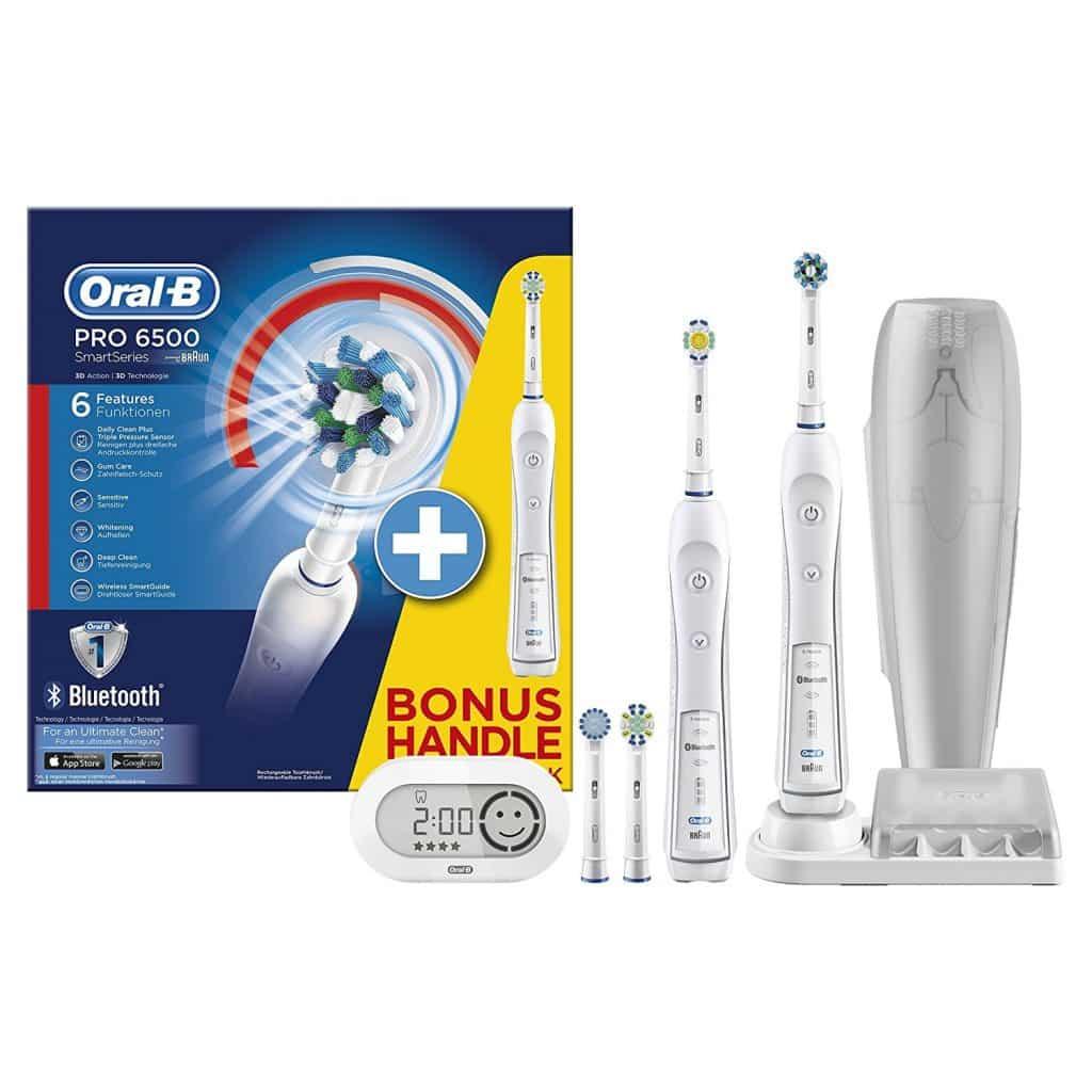 Oral-B SmartSeries Pro 6500, mit 2. Handst