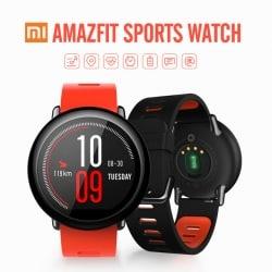 שעון ספורט חכם של שיאומי Xiaomi AMAZFIT – בגרסא אנגלית רק ב 93$ בלבד!