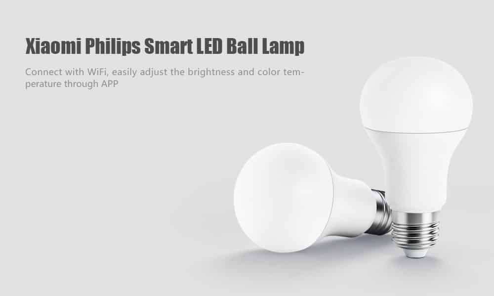 Xiaomi Philips Smart LED – נורת לד חכמה – 9.89$