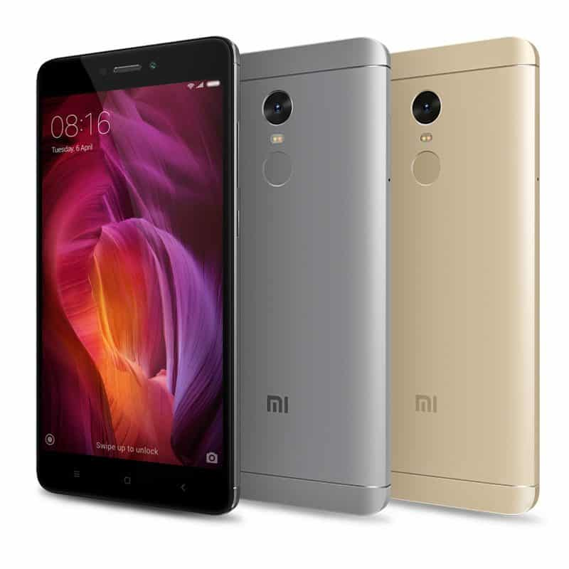 סמארטפון Xiaomi Redmi Note 4 Global Edition 3GB+32GBרק 139$ בצבע זהב