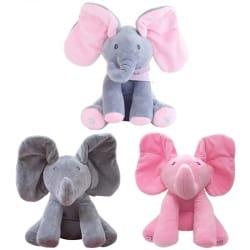 "Peek a Boo Elephant   הבובה שתכבוש את הילדים שלכם ב45 ש""ח בלבד!"