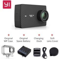 YI 4K Plus  – המצלמה הכי טובה עם אביזירים בדיל מנצח! 299$!