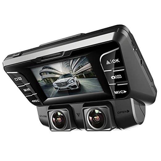 Pruveeo C2 – מצלמת רכב כפולה – לנהגי מוניות וכד' שרוצים להקליט גם את פנים הרכב! זוג מצלמות מסתובבות באיכות FHD – בירידת מחיר! 109$ עד הבית!