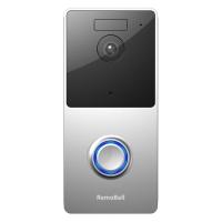 """פעמון אלחוטי מבית RemoBell – כולל חיישן תנועה, וידאו ב-HD ואינטרקום – רק ב-307 ש""""ח, כולל מיסים ומשלוח!"""