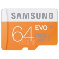 כרטיס זיכרון של סמסונג – נפח 64GB רק ב-71 ₪ [54 ₪ פחות מהמחיר בארץ] – כולל משלוח!