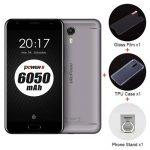 US Version Ulefone Power 2 5.5 Inch 4GB 64GB Smartphone Gray