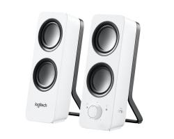 רמקולים למחשב – שחור/לבן לבחירה –Logitech Z200 – חיבור PL 10W – ב-139 ₪, כולל משלוח!