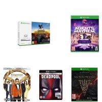 Xbox One S – עם 5 משחקים לבחירה ב-1,590 ₪ כולל מיסים ומשלוח! [בהנחת פריים]