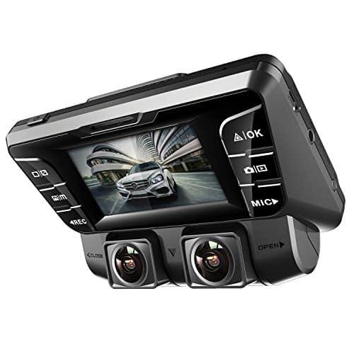 "Pruveeo C2- הנחה מטורפת! מהרו כי זה נחטף! רק 100$ (בדר""כ 150!) כולל הכל על מצלמת רכב דו כיוונית איכותית לרכב!"