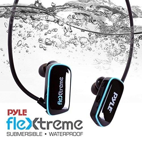 שחיינים לכאן! אוזניות PYLE עמידות למים עם נגן MP3 מובנה – עם 8GB רק ב42.38$