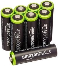 קונים באמזון אנגליה? הוסיפו 8 סוללות AA נטענות של AmazonBasics! לשעות הקרובות בדיל בזק הכי זול אי פעם!