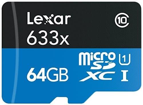 עוד דיל איום! כרטיס זיכרון Lexar High-Performance microSDXC 633x 64GB המומלץ למצלמות רכב!