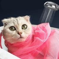 הסוף לשריטות: שק רחצה לחתולים – לחפיפה / שטיפה / גזיזת ציפורניים – ב- 2.99 $
