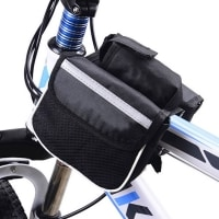 רוכבים בנוח: תיקי אחסון לאופניים – אחורי / קדמי – בפחות מ-10₪ !