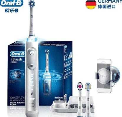 BRAUN Oral-B iBrush9000 – הפרארי של מברשות השיניים החשמליות (המכאניות) רק 333 ₪! [899 ₪ בארץ]