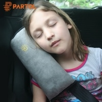 לילדים עייפים: כרית ראש לנסיעות מעייפות – מתלבש על חגורת הרכב – ב- 2.15$ – במגוון צבעים!