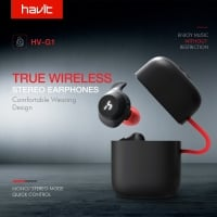 אוזניות ספורט אלחוטיות – מבית HAVIT – עמידות במים | TRUE WIRELES | תומך סטריאו / מונו – ב- 50.28 $ !
