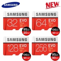 כרטיס זיכרון – Samsung EVO Plus 64 GB – ב-59 ₪  [בארץ: 86 ₪] – לזמן מוגבל !