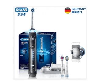 BRAUN Oral-B iBrush9000 – הפרארי של מברשות השיניים החשמליות (המכאניות) בירידת מחיר: רק 307 ₪!