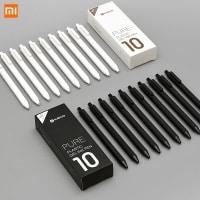 מארז 10 עטים מבית שיאומי – דיו שחור –  ב-7.82 $!