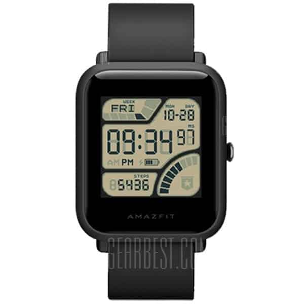 Huami AMAZFIT Bip – שעון ספורט חכם מבית שאיומי – גרסה בינלאומית – רק ב- 55.99 $ !