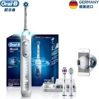 BRAUN Oral-B iBrush9000 הפרארי של אורל בי! מברשת חשמלית משובחת בירידת מחיר ל24 שעות! רק 87$!