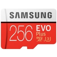 מחיר מטורףףף!!! Samsung EVO Plus 256GB – בנפח עצום – 256GB רק ב41.99$!- מאות שקלים פחות מבארץ!