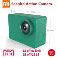 נעים להכיר! Xiaomi Mijia Seabird 4K – מצלמת אקסטרים חדשה, יפה וזולה להפליא של שיאומי!