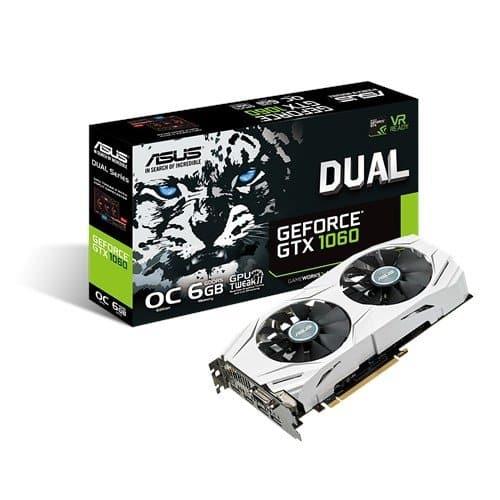 """כרטיס מסך ASUS GeForce GTX 1060 6GB ב1032 ש""""ח במקום 1758 ש""""ח!"""