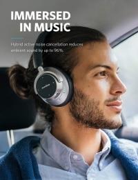 """Anker Soundcore Space NC – אוזניות סינון רעשים עם ביקורות מעולות – בירידת מחיר נדירה! ללא מכס! רק 305 ש""""ח!"""