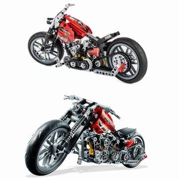 "Decool 3354 – מודל אופנוע להרכבה – עם 374 חלקים! רק ב66 ש""ח"