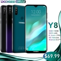 מחפשים מכשיר גיבוי/ילדים פטור ממכס? DOOGEE Y8 החדש עם מפרט מפתה – רק ב67.99$