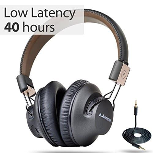 אוזניוות בלוטות' עם ביקורות מעולות מבית Avantree Pro המעולים, עם סוללה ל40 שעות, מצב חוטי, Apt-X ו- NFC מתאימות גם לטלויזיה