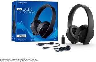 אוזניות אלחוטית לפלייסטיישן 4 – PlayStation Gold Wireless Headset – מקורי מבית סוני – ירד מתחת לרף המכס!